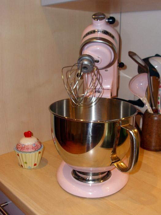 Piggy, unsere rosafarbene Kitchen Aid