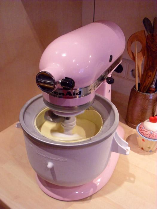 Eiscreme Selber Machen Mit Dem Kitchen Aid Zusatz Little Green Planet