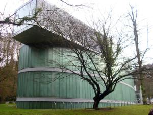 Die Fassade des Museums soll an einen Gletscher erinnern.